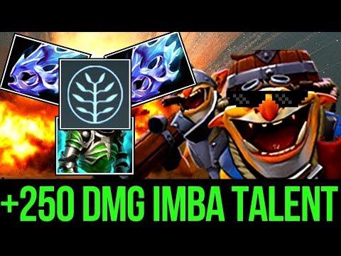 Crazy Techies with 250 Damage Talent by 3000 Techies Games Pro Dota2 WTF