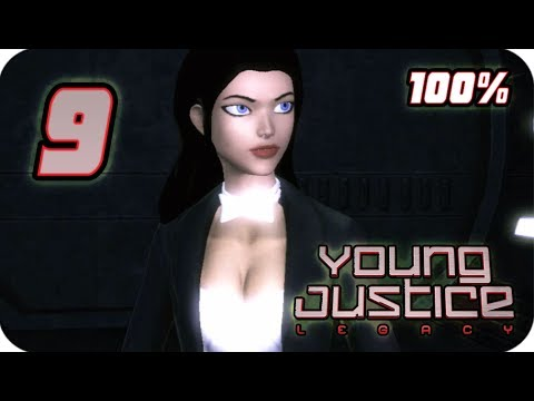 Young Justice: Legacy Walkthrough Part 9 (PS3, X360, PC) 100% Gotham City Mission 10
