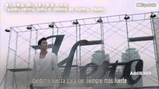 Hero (Sub español+ Romanji + Kanji) [Super Junior]