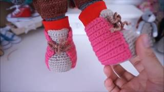 #Häkeln Shoes crochet tutorial…