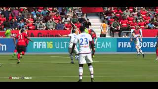 Guingamp-Lyon (2e journée, 0-2) but de Grenier (2buts)