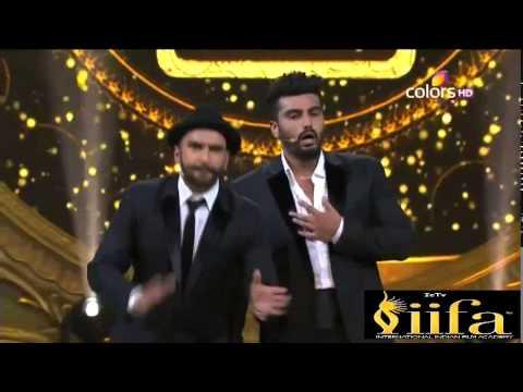 IIFA Awards 2015 - Ranveer & Arjun comedy scenes (Teri maa ka siii)