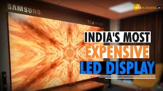 Samsung's The Wall: Rs 12 cr! What's special about India's most expensive LED display