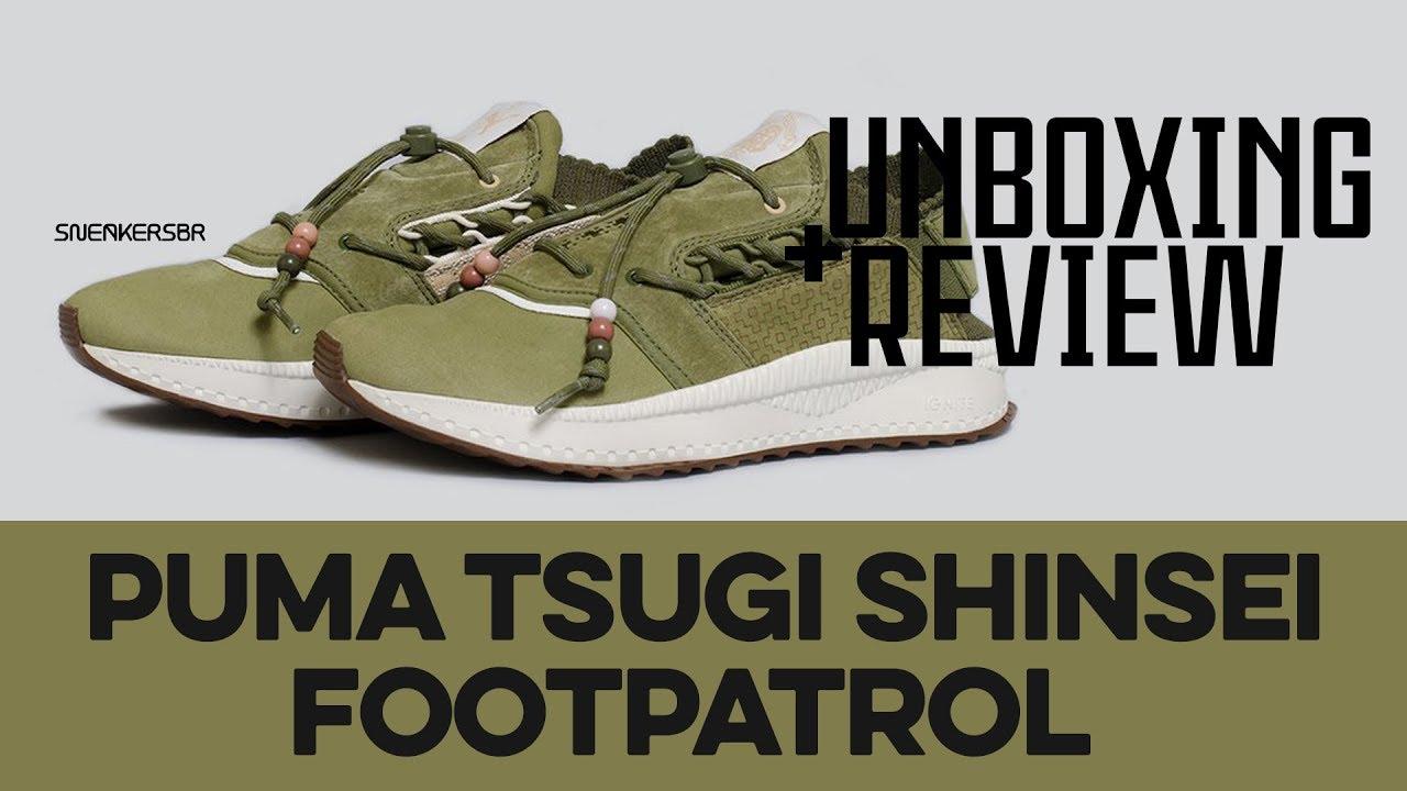 8d3574da217f UNBOXING+REVIEW - Puma TSUGI Shinsei x Footpatrol - YouTube