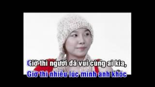 [Karaoke HD] NGÔI NHÀ TUYẾT TRẮNG - AKIRA PHAN | Beat gốc |