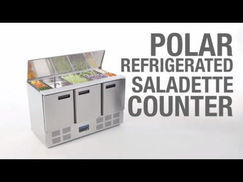Polar Refrigerated Saladette Counter (G607)