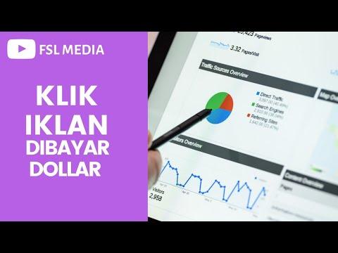 BISNIS ONLINE: KLIK IKLAN DIBAYAR DOLLAR - YouTube