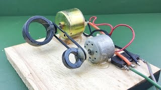Free Energy Kit , Amazing Electric Self Running Machine Science New Project 2019