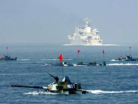 Церемония прощания отрядов кораблей Тихоокеанского флота и Китая после совместных учений прошла в Жёлтом море