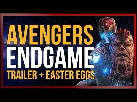 AVENGERS:ENDGAME - Trailer Analyse und Easter Eggs   [onsXreen]