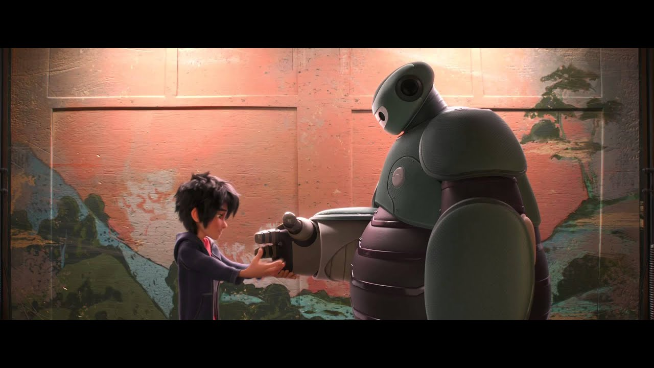Big Hero 6 Escena Choca Puno Disney Oficial