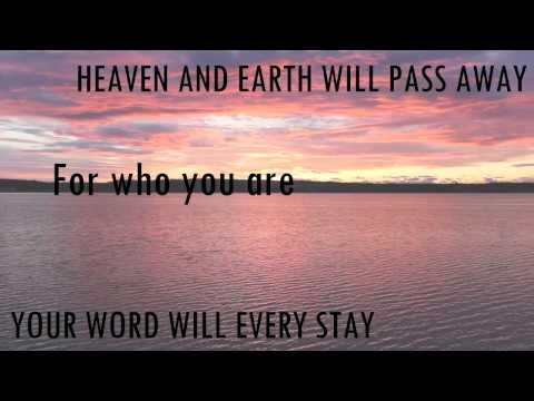 UNCHANGING - (Lyrics Video) - Wale Adebanjo