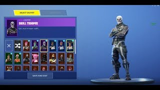 Selling a RARE Fortnite Account w/ Skull and Ghoul Trooper! (check desc)