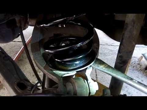 DIY: How To Change Rear Springs On Car