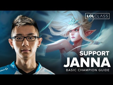 Janna Support Guide by C9 Hai - Season 6 | League of Legends