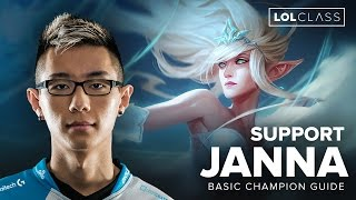 janna support guide by c9 hai season 6   league of legends
