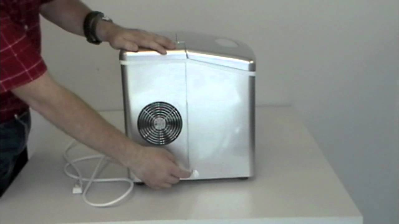 Elegant Koldfront   KIM210SV Silver Portable Ice Maker   YouTube