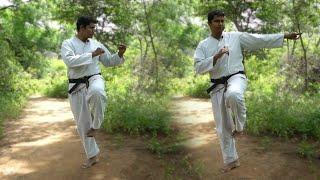 Side Kick ||Self defence ||Martial Arts ||Telugu
