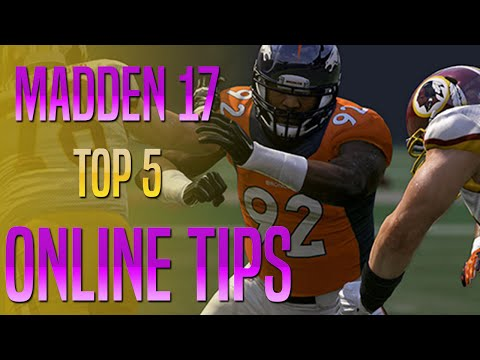 Madden 17 Online Tips - Win More Ranked Games!