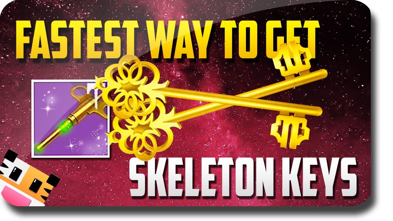 destiny rise of iron fastest way to earn skeleton keys