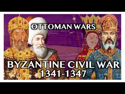 OTTOMAN WARS DOCUMENTARY: Byzantine Civil War of 1341-1347