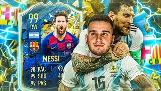 99 LIONEL MESSI TOTS SQUAD BUILDER BATTLE🔥🔥FIFA 20