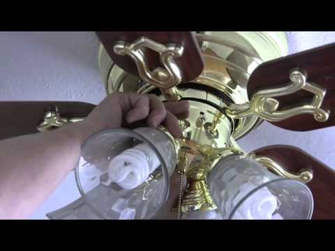Ceiling Fan Speed Control Switch Replacement Youtube
