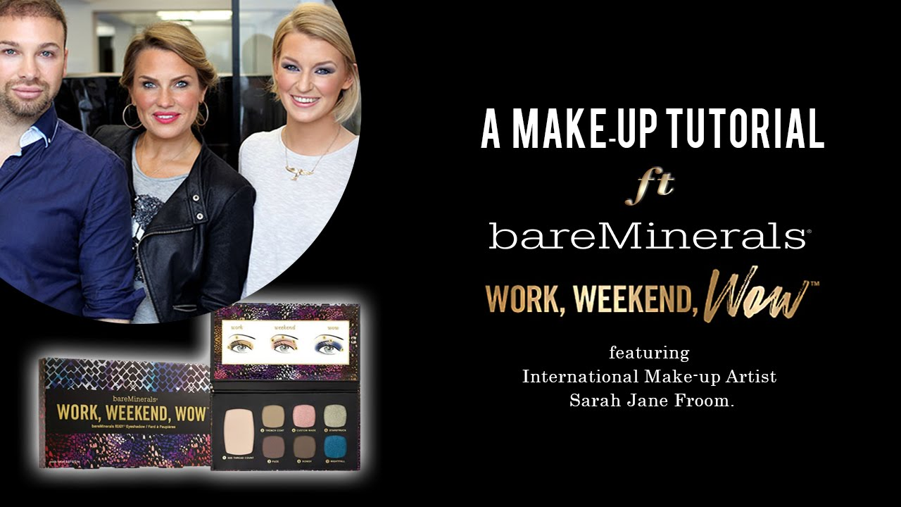 8ab31ddd2 Make-up Tutorial | bareMinerals Work, Weekend, Wow Eyeshadow™ Palette with  Zoe Newlove