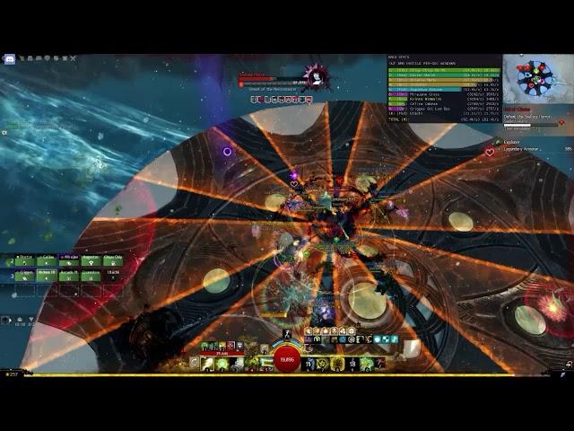 [Gw2][Wing 5] Soulless Horror (Desmina) boss fight - Druid