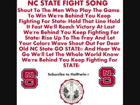 NC State Fight Songs