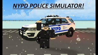 ROBLOX | POLICESIM | INDIVIDUALS WITH A GUN