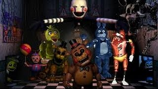 Все аниматроники в Five nights at Freddy s 2