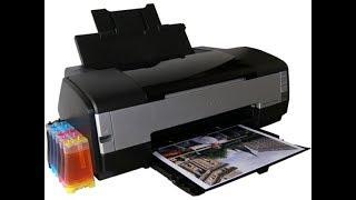 Как снять печатающую головку на принтере Epson photo 1410