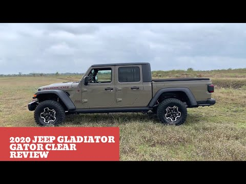 First Quick Review Of Gator Clear 2020 Jeep Gladiator Rubicon