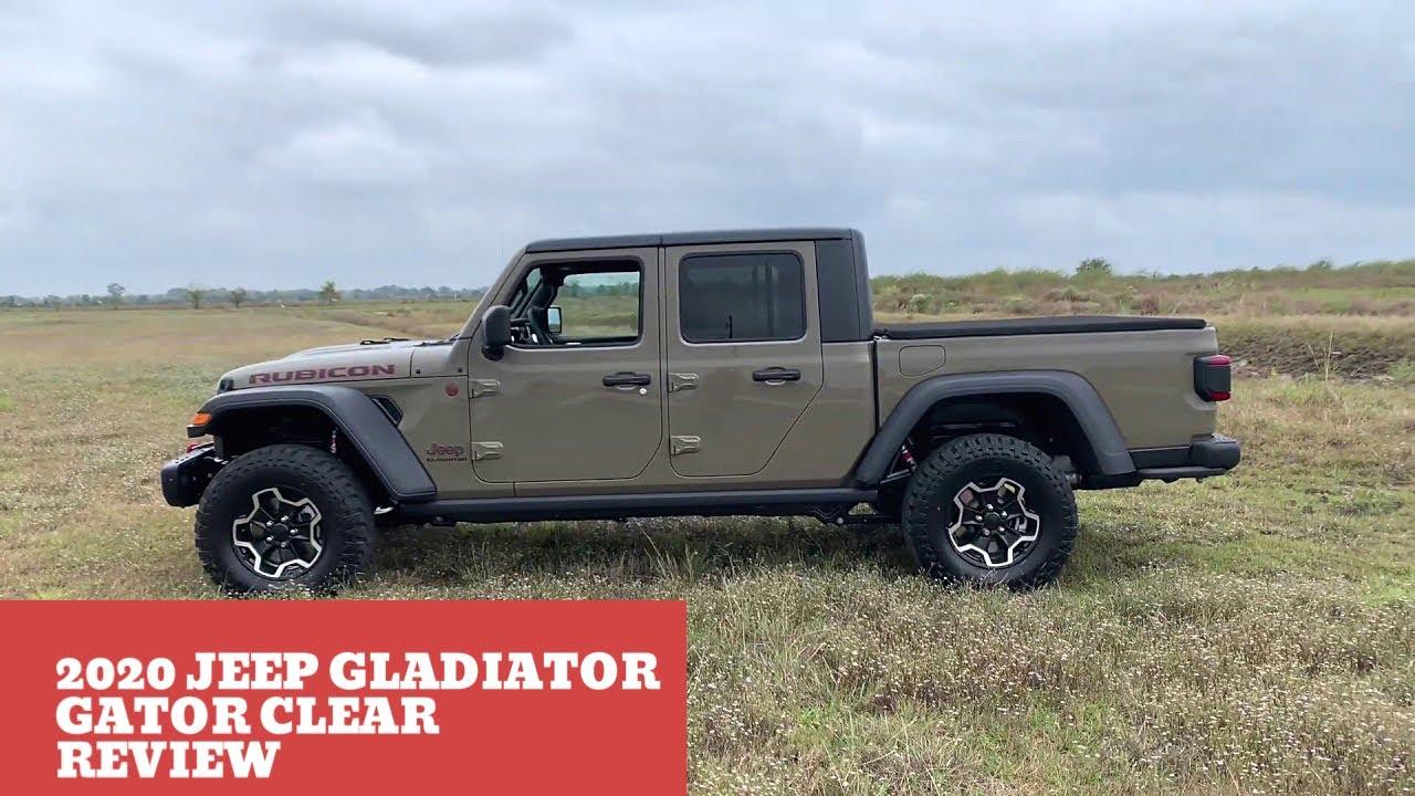 2020 Jeep Gladiator Overland Gator