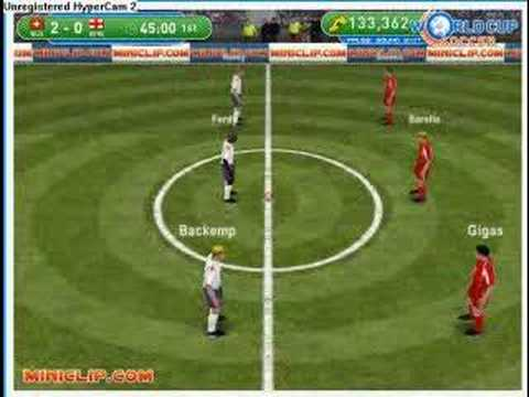 Mini interactive football soccer WORLD CUP 2006