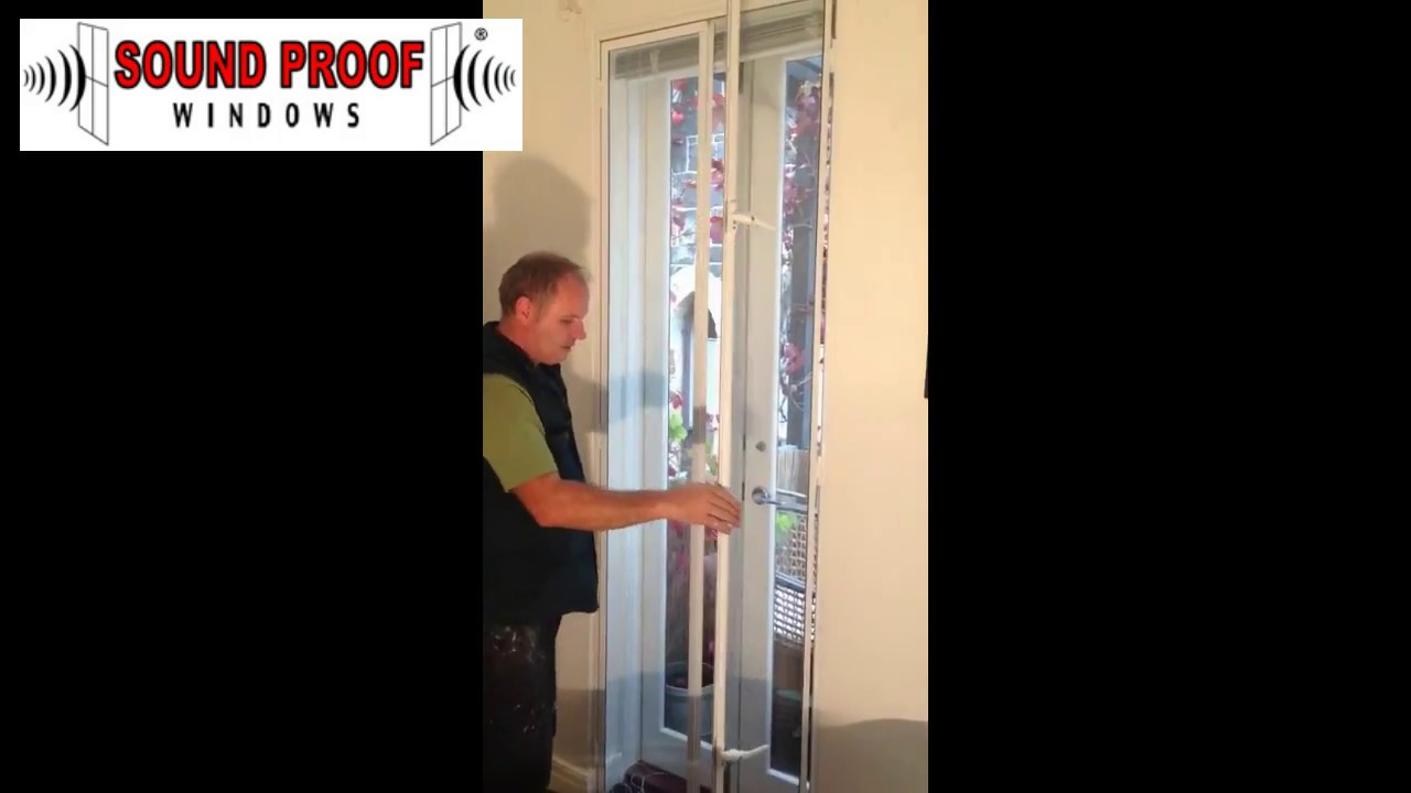 Sound Proof Windows Install Demo French Doors