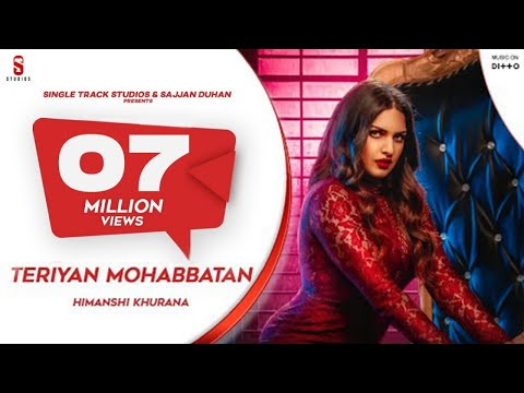 Teriya Mohabbatan | Himanshi Khurana Ft. Johny Vick | New Song 2019 | ST Studio | Ditto Music