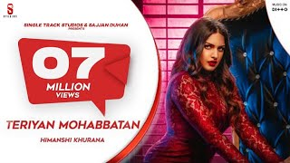 Himanshi Khurana | Teriyan  Mohabbatan | Johny Vick | New Punjabi Song 2019| Bigg Boss13 Ditto Music