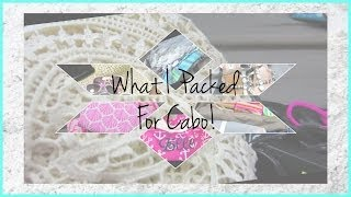 Bdays in Cabo! What did I Pack?! ♥ MakeupMAYhem Day 12 Thumbnail