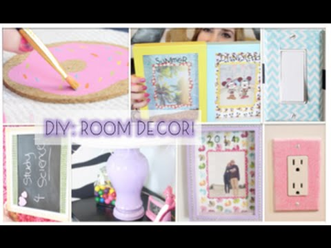 DIY Decorations Easy cute ways to spice up your room YouTube