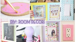 Diy Decorations + Easy & Cute Ways To Spice Up Your Room!