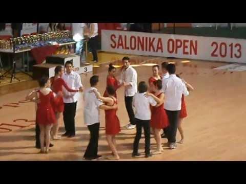 Salonika Open '13 Salsa Rueda Show