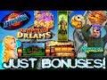 Just the Bonuses! Slot Machine Bonus Games Features HOT AF HITS!