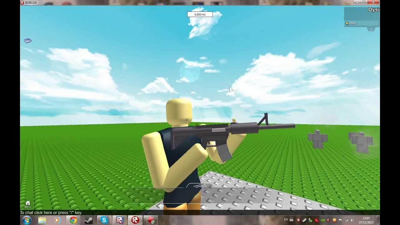 Roblox FPS Update #2 - Guns