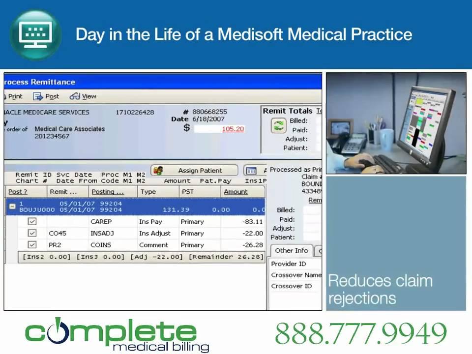 Medisoft Demo Back Office Billing Reports