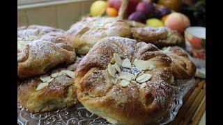 Ореховые булочки I рецепт необычного теста
