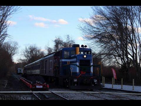 [HD] Rail Explorers Rhode Island First Day & Newport Dinner Train - 4/8/2017