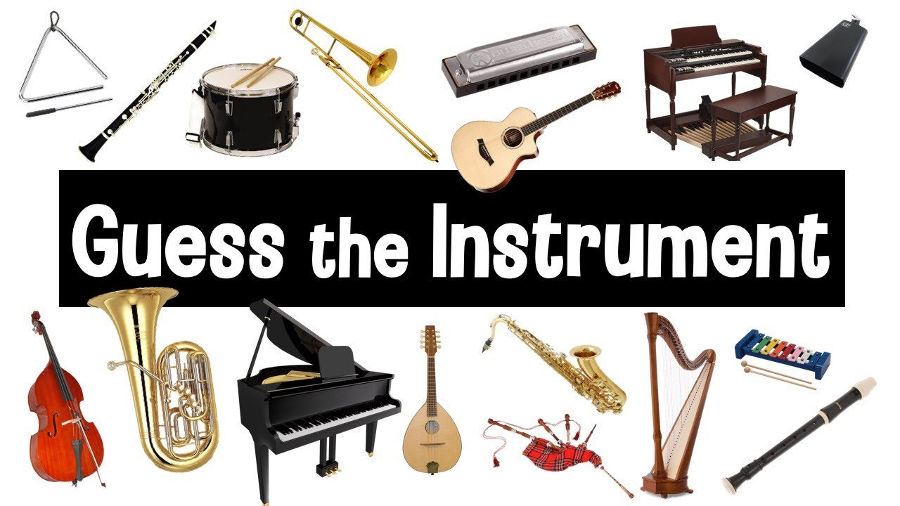 Guess the Sound   Musical Instruments Quiz   Instrument Sounds
