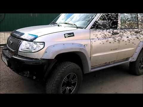 Подготовка УАЗ Патриот 2011 года к замене порогов